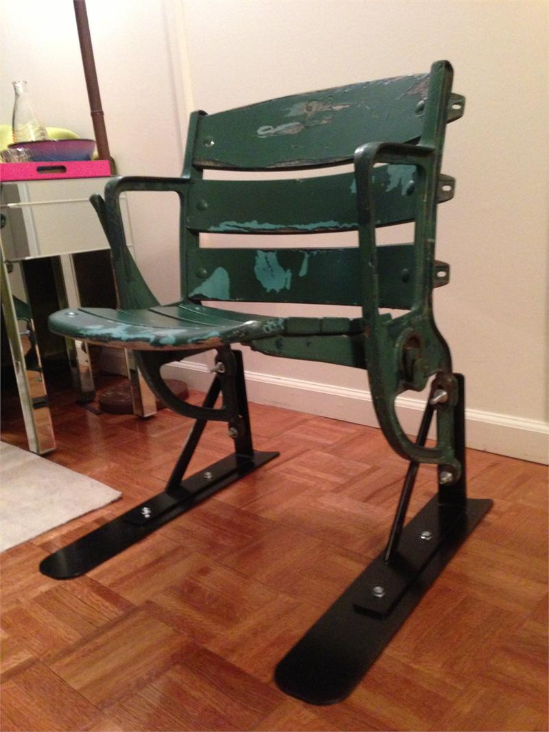 Milwaukee County Stadium Seat Mounting Brackets And Stands